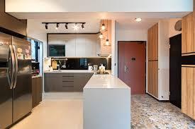 modern open kitchen concept hdb 4 room standard flat 93 sqm highlight of the house is the
