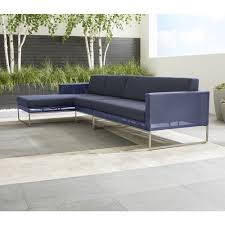Crate And Barrel Patio Furniture Covers - sectional outdoor furniture cover crate and barrel furniture