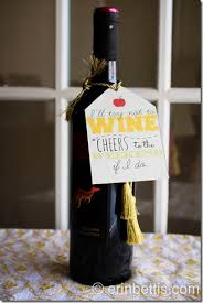 wine gifts for erin go hooah free gift tag printables