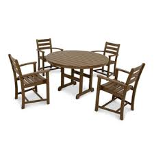 Outdoor Furniture Plastic by Shop Patio Dining Sets At Lowes Com