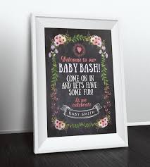 baby shower welcome sign welcome sign floral rustic boho babyq chalkboard couples co ed