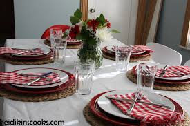 valentines table decorations casual valentines day table setting heidikins cooks valentine s day