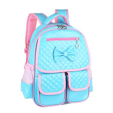 book bags with bows durable turquoise pink embossed patent leather bow school