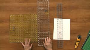 how to use quilting rulers properly national quilters circle