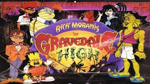 Wildfire Cartoon Dvd by Rick Moranis In Gravedale High 1990 Intro Opening Youtube