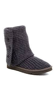 womens ugg knit boots ugg australia cardy genuine sheepskin lined boot