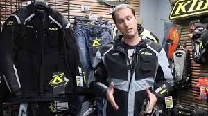 motorcycle riding clothes klim badlands adventure riding gear 2015 youtube