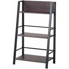 Leaning Shelf Bookcase Furniture Home Leaning Shelf Bookcase Furniture Decor