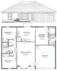 3 bedroom house plans simple 3 bedroom floor plans