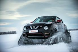 nissan spider a nissan juke on tank treads is as glorious and ridiculous as you
