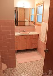 kate u0027s diy bathroom gut remodel 8 lessons learned mid century