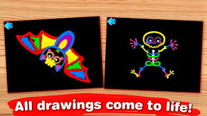 kids paint and color coloring games for toddlers apk download