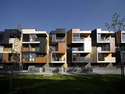 Perfect Modern Architecture Apartments A Intended Design - Apartment exterior design ideas