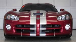 Dodge Viper Red - venom red 2008 dodge viper srt 10 aero package youtube