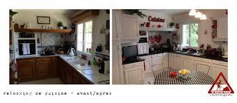 Relooking Cuisine Avant Apres Relooking D U0027une Cuisine Rustique U2026