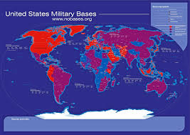 A Map Of Usa by Map Us Military Bases Maps Of Usa