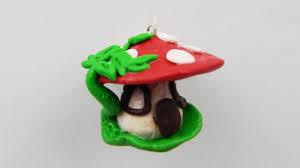 christmas clay gnome house diy fimo xmas tree ornament clay gnome