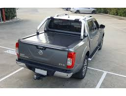 Nissan Dual Cab Navara Auto Remote Retractable Ute Hard Lid Cover