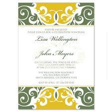 blank wedding invitation kits yellow green wedding invitation kit jordana willow diy