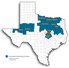 Google Fiber Austin Map by Oncor U0027s Service Area