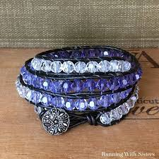 make wrap bracelet images How to make a beaded wrap bracelet running with sisters jpg