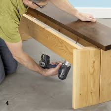 Plans For Building A Wood Bench diy dining table set