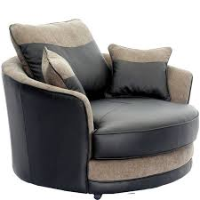 sofa design fabulous oversized round swivel chair bed crown