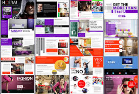 Magazine Presentation Template hoera magazine powerpoint template on behance