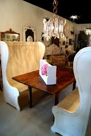 dining table high back bench high back benches with farm table dream home pinterest bench