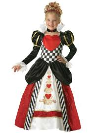 halloween prom costumes child deluxe queen of hearts costume prom dress wedding dress