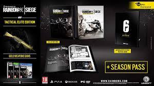 Buy Rainbow Six Siege Gold Tom Clancy S Rainbow Six Siege Tactical Elite Edition