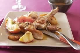 fleur de thym cuisine recette de râble de lapin en cocotte pêches rôties à la fleur de