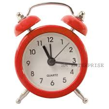 Small Clock For Desk Buy Fashionable Table Wall Desk Small Clock Watches With Alarm Red