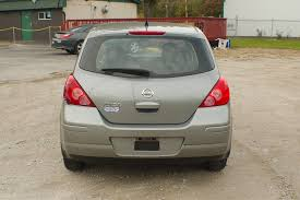 grey nissan versa hatchback 2012 nissan versa gray sedan used car sale