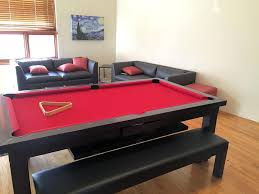 dining table converts to pool table sleek convertible pool tables dining room pool tables by