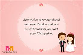 wedding message for a friend my best friend wedding wishes tbrb info