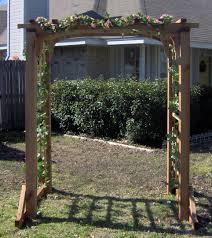deluxe garden arbor