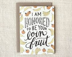 mothers day card loin fruit card wit u0026 whistle