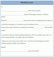 hardship letter format image collections letter samples format
