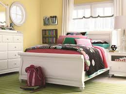 Bed Style by Charming White Twin Sleigh Bed Design Ideas U0026 Decors
