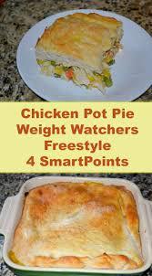 cuisine de az minceur chicken pot pie weight watchers freestyle 4 smartpoints cuisine