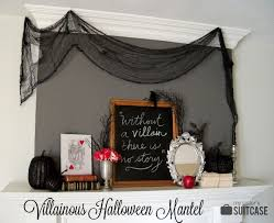 halloween picture frame crafts a halloween mantel inspired by my favorite villains my