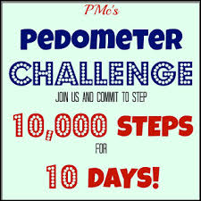 Challenge Steps Pmc S Pedometer Challenge 10 000 Steps For 10 Days Day 7