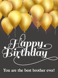 balloons for him golden birthday balloon card for birthday greeting