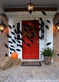 Fall Decorated Porches - dollar store halloween front porch decor by bayougirl halloween