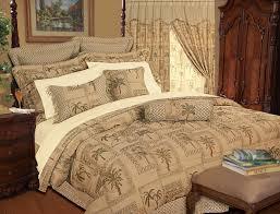 Tapestry Duvet 9 Piece Tapestry Palm Bedding Comforter Set