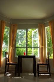 Bay Window Curtains Bay Window Drapes Leandrocortese Info