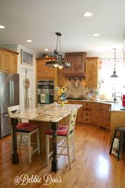 Kitchen Island Extension by Kitchen Remodel Part 3 Final Debbiedoos