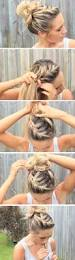 12 easy diy hairstyles for the beach messy buns easy hairstyles