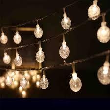 transparent diy string lights tinny rope led